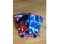 Spider man swimming trunks age 5