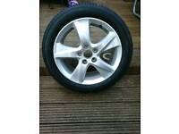Honda accord 2008 - 2015 alloy wheel with 225 50 17 tyre