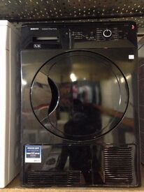 BEKO 7KG CONDENSER SENSOR DRYER BLACK RECONDITIONED
