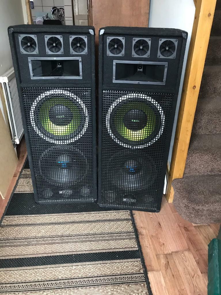Loudspeakers | in Brentry, Bristol | Gumtree