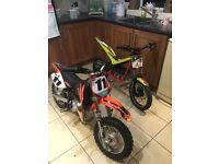 Ktm 50 mini not 65 125 250 Yz kx cr rm