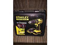 Stanley cordless drill 18v