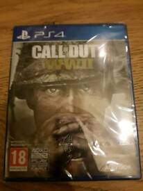 PS4 Call of Duty WW2 WWII new & sealed