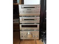 Technics cd / cassette / radio / amp