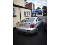 toyota celica, silver, leather, sunroof, central locking