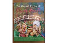 The Magical Garden of Claude Monet signed copy Laurence Anholt