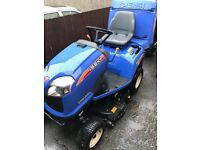 "Iseki SXG 216 40"" Diesel Ride-on-mower with electro hydraulic dump. One year old."