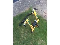 Turbo bike trainer