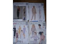 Dressmaking Patterns x 4 (selection as per photo)