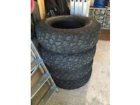 BF Goodrich Mud Terrain KM2 Tyres