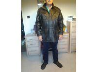 Large soft leather jacket