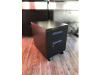 Under Desk Cabinet with single draw plus suspended filing lockable