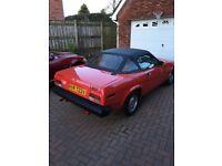 Triumph TRV soft top 1980 93000 miles