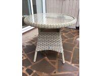 Bramblecrest Rattan Bistro Table