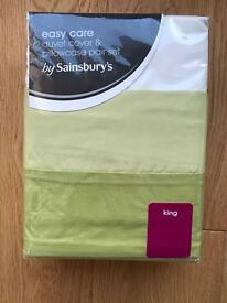 BNIP King Size Duvet Set