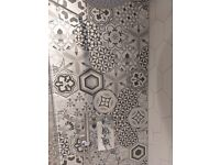 Hexagon harmony tiles - 4 m2