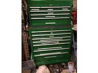 Tool chest and roll cab
