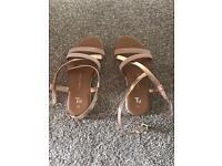 Girls size 10 sandals