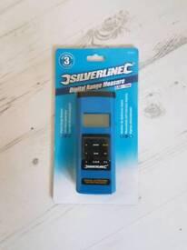 Silverline digital range measure