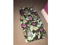 New look skirt size 8