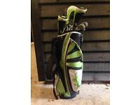 Junior golf club set & bag