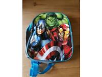 Kids avenger back pack used twice