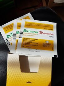 Relieve your PAIN with BUTRANS PATCHES 20MCG/HR