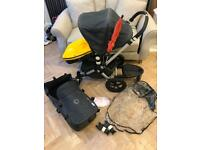 Bugaboo Chameleon 2 Travel System Demin 107 Special Edition with buggy board