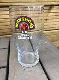 JOHN SMITHS pint glasses bar pub club man cave