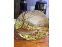 "Royal Doulton Plate ""the pheasant """