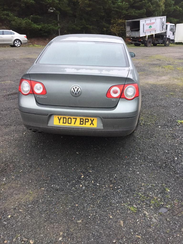 2007 VW PASSAT 1.9 TDI. (New clutch &flywheel fitted)