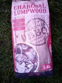 Charcial lump wood