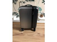 Small Hard Samsonite Suitcase in Grey