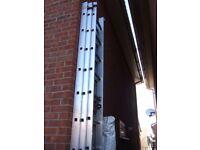36 Tread Triple extending ladders