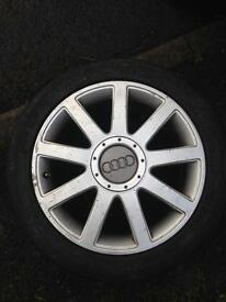 "Audi / vw 17"" alloy 235/45r17"