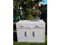Vintage deco shabby chic sideboard