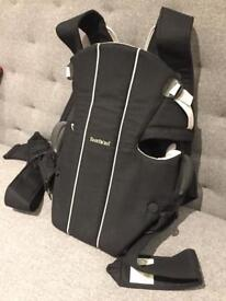 Baby Bjorn - baby carrier (black)
