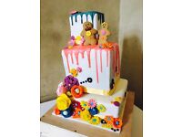 Affordable Celebration, Novelty, Birthday & Wedding Cakes North London Barnet