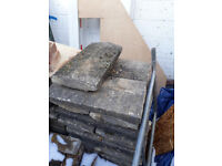 44x Reclaimed Coping Stones for Sale