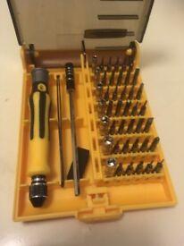 Screwdriver Set & Bits Mini Repair Tool Kit