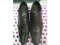 Mens Black Dress Shoes - Used. Uk11 EU45. Collection, London