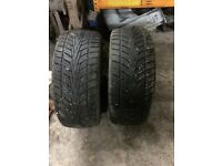 245 /45 /r18 tyres x2
