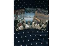 The walking dead graphic novels #1,2,3
