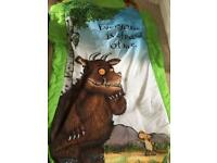 Gruffalo air bed-ready bed. Immaculate condition