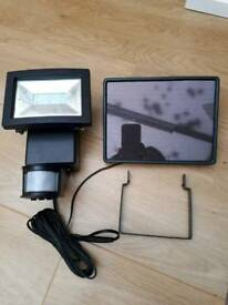 Security light * solar with panel