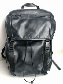 Prada Leather Backpack - mint condition - with certificate