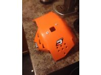 Ktm sxf sump guard / bash plate brand new