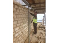 Builder bricklayer available for work