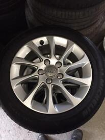 Audi A3 wheels and tyres