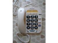 FREE - BT big button phone.
